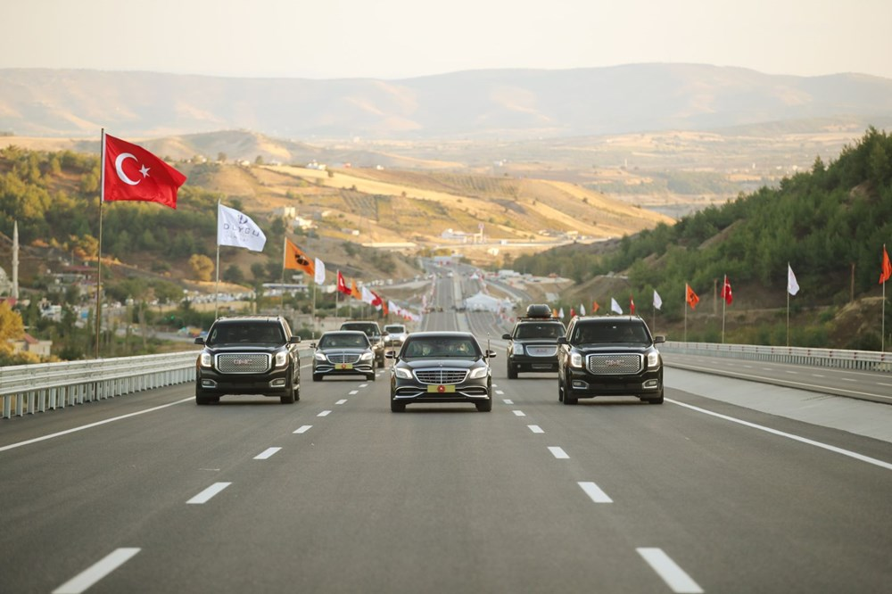 11 tünelli Kahramanmaraş-Göksun yolu açıldı: Süre 39 dakika kısalacak - 12