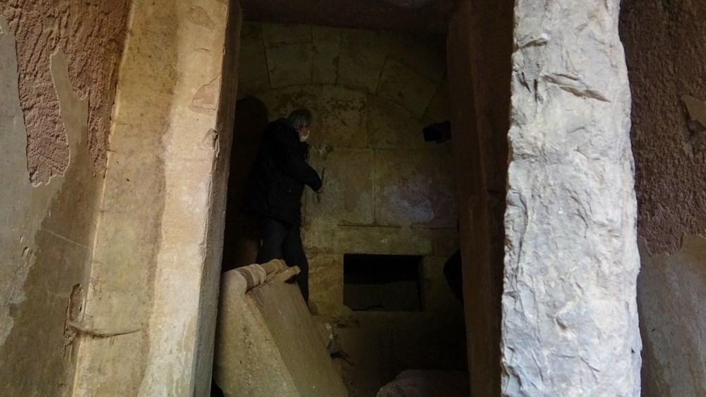 2500 yıllık mezar oda gizemini koruyor - 2