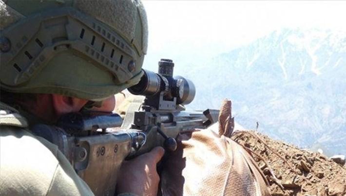 Hakkari'de bir asker şehit