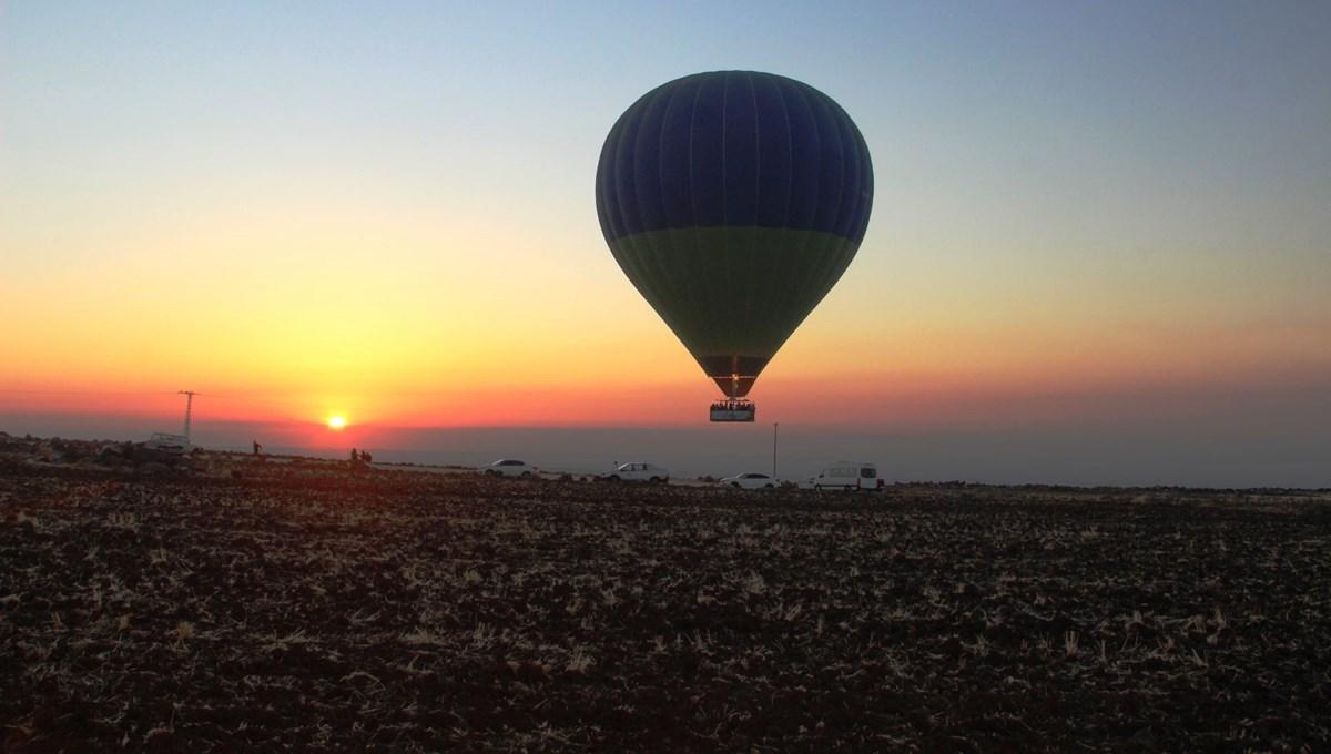 Göbeklitepe'de balon turları yeniden başladı