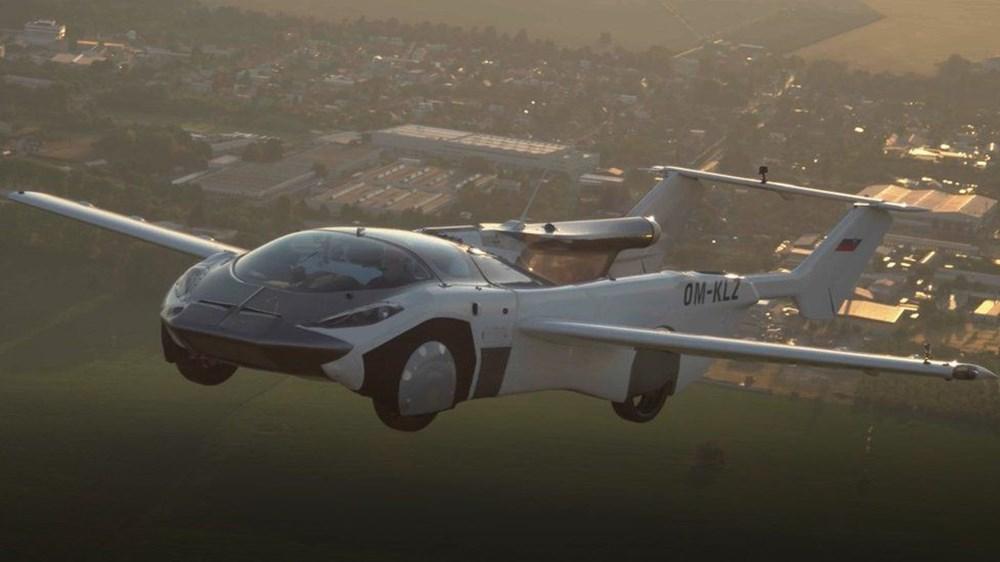Uçan araba 35 dakikalık testi başarıyla tamamladı - 2