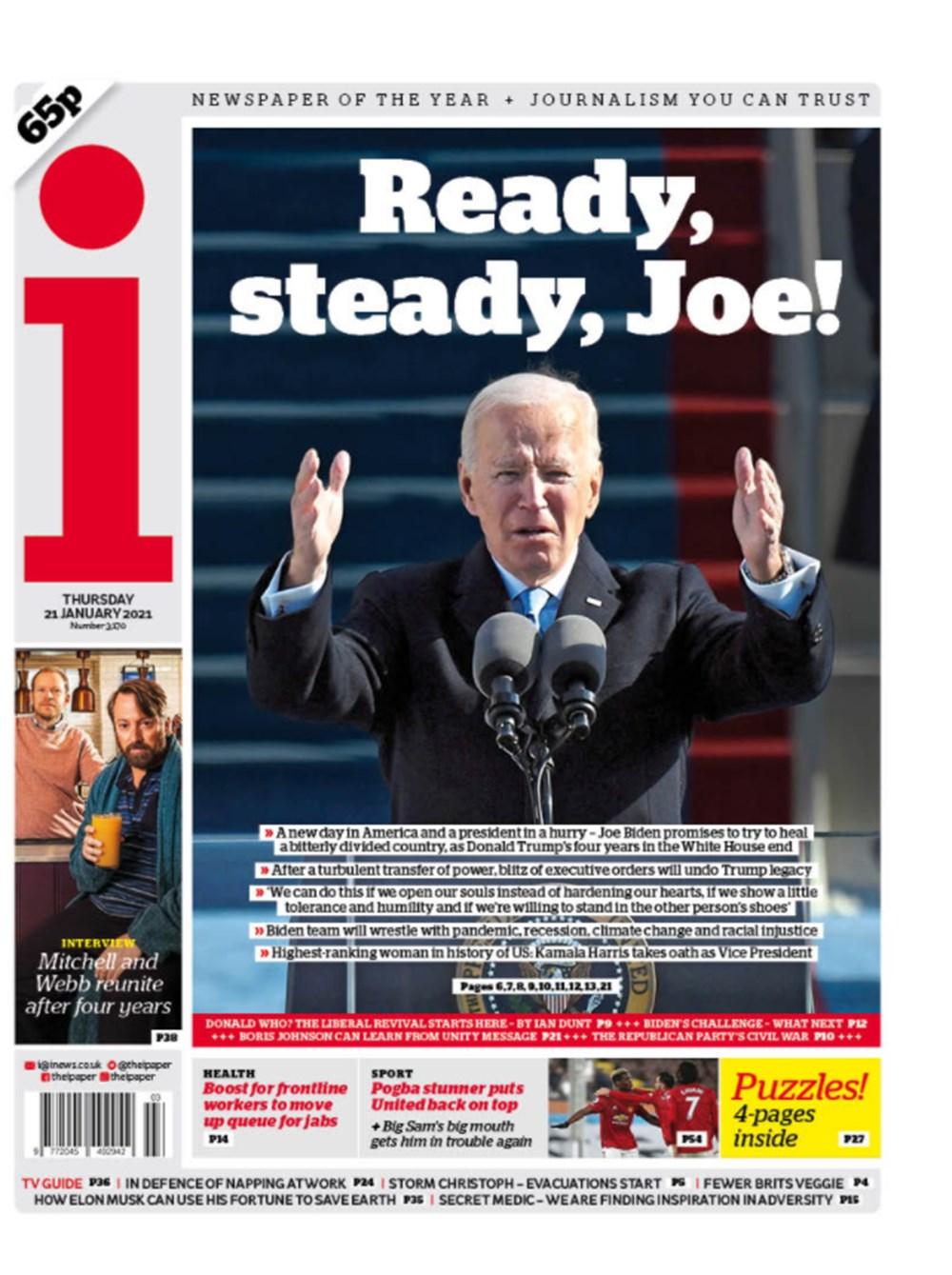 Dünya manşetlerinde Joe Biden: ABD'nin kurtuluşu - 4