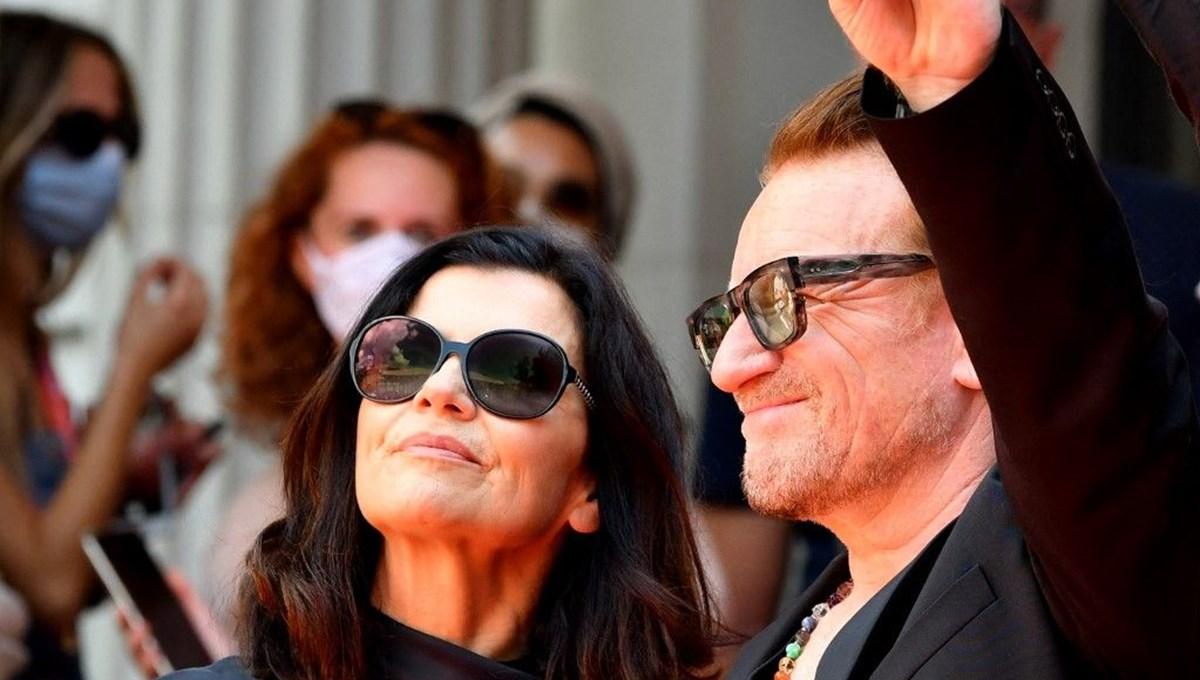 Bono, Saraybosna Film Festivali'ne onur konuğu olarak katıldı