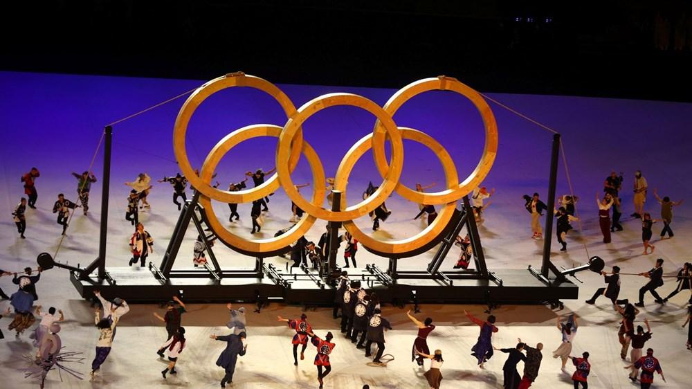 2020 Tokyo Olimpiyatları görkemli açılış töreniyle başladı - 32