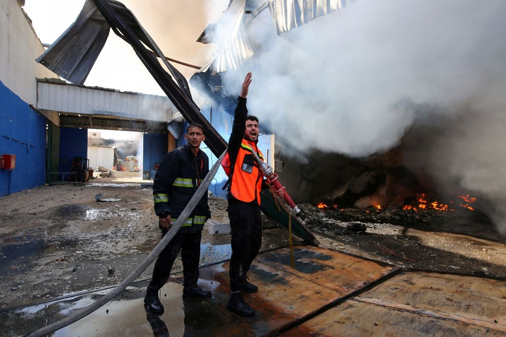 İsrail'in Gazze'ye saldırılarının bir haftalık bilançosu: 200 ölü, bin 307 yaralı - 2