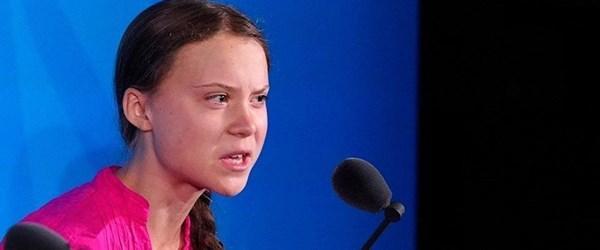 İklim aktivisti Greta Thunberg'in BM konuşması Fatboy Slim şarkısına uyarlandı