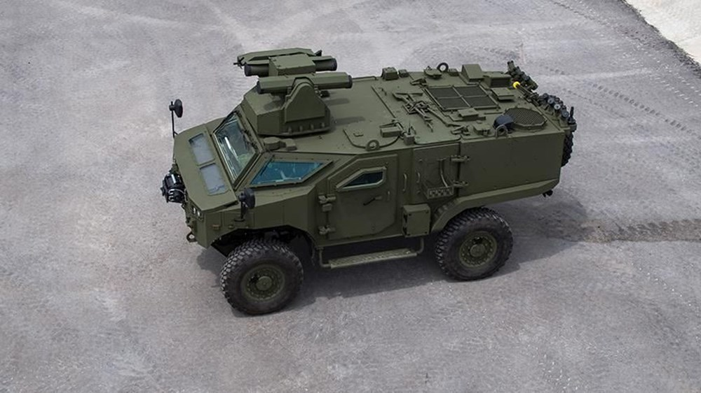 Mayına karşı korumalı Türk zırhlısı: COBRA II MRAP (Türkiye'nin yeni nesil yerli silahları) - 228