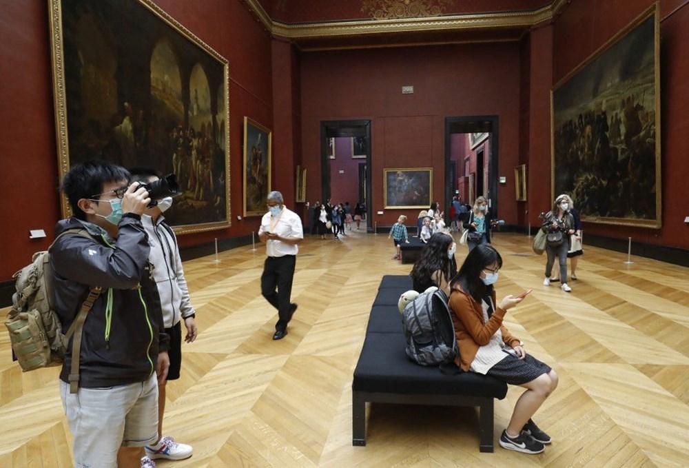 Louvre Müzesi yeniden açıldı (40 milyon euro'luk kayıp) - 5