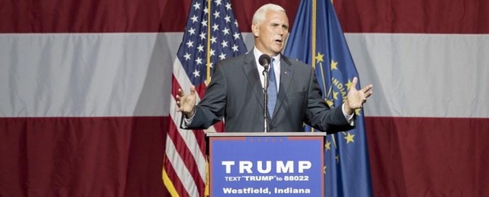 Trump'ın olası başkan yardımcısı adayı Mike Pence, Clinton'ın başkan seçilmesi halined ülkenin felakete sürükleneceğini iddia etti.