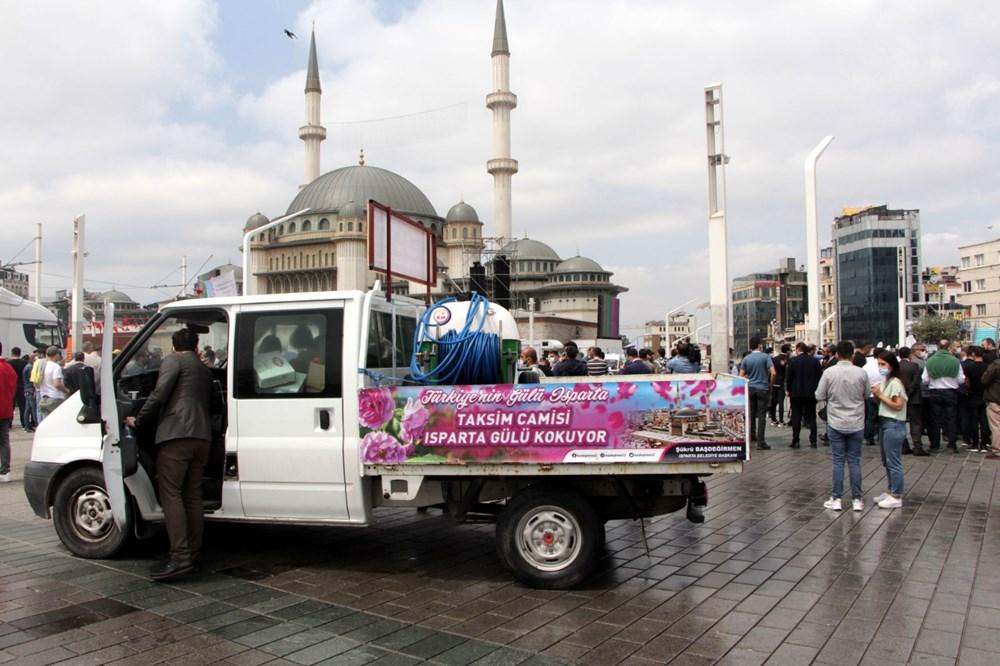 Taksim Camii için açılış hazırlıkları: Isparta'dan 25 ton gül suyu - 7