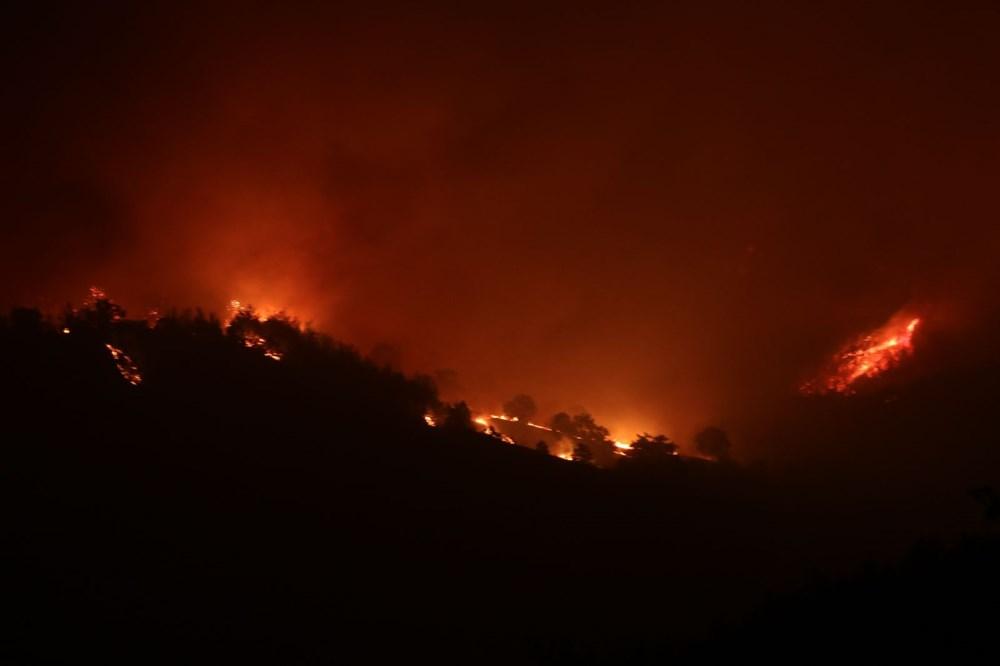 Adana'da orman yangını: 8 köy boşaltıldı - 14