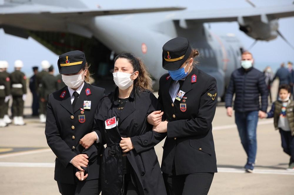 Şehit Pilot Burak Gençcelep'e veda - 3