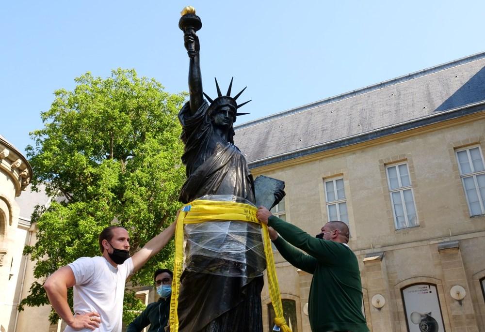 Fransa'dan ABD'ye yeni Özgürlük Heykeli - 9