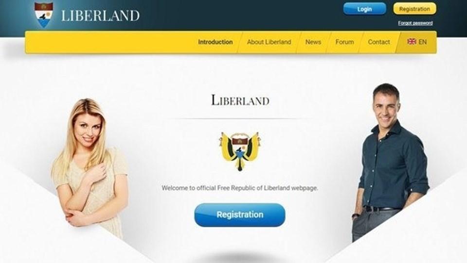 """13 Nisan'da kurulan Liberland'in resmisloganı """"Yaşa ve diğerlerinin yaşamasına izin ver"""""""