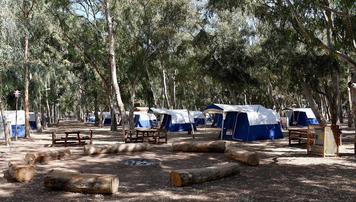 Pandemide güvenli tatil isteyenlerin tercihi kamp turizmi