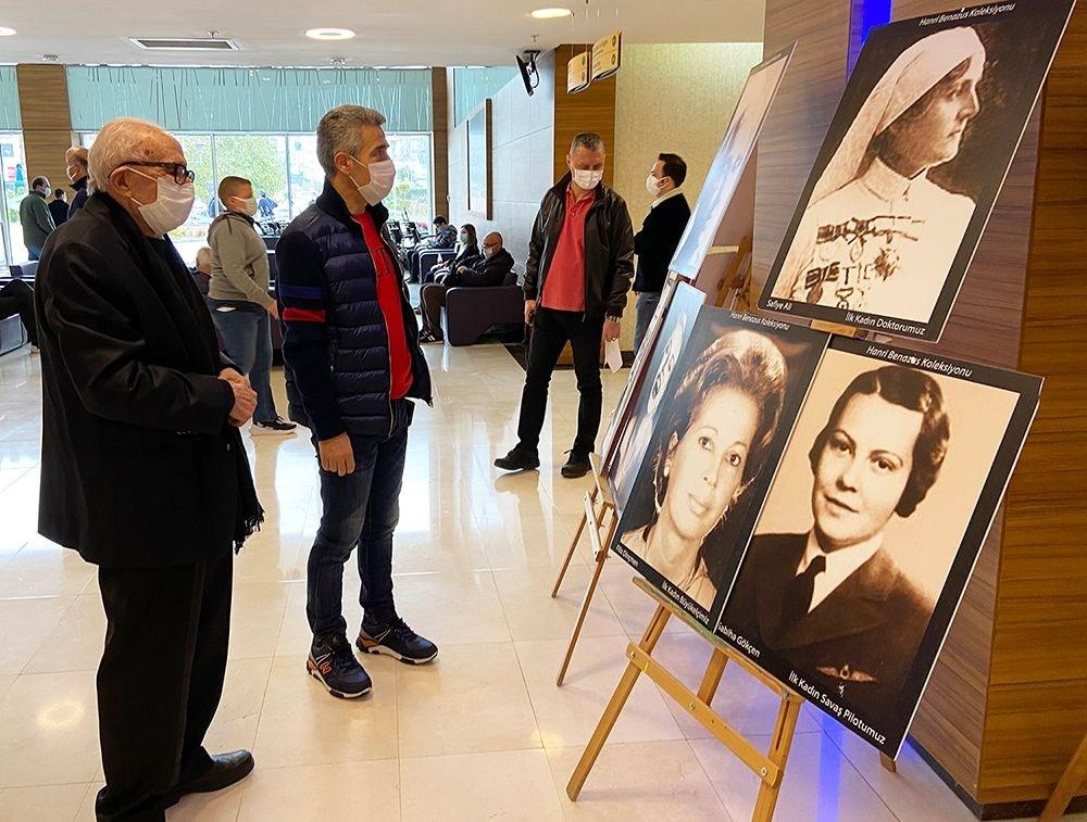 Cumhuriyetin Anıt Kadınları Sergisi 8 Martta Sanatseverlerle Buluştu