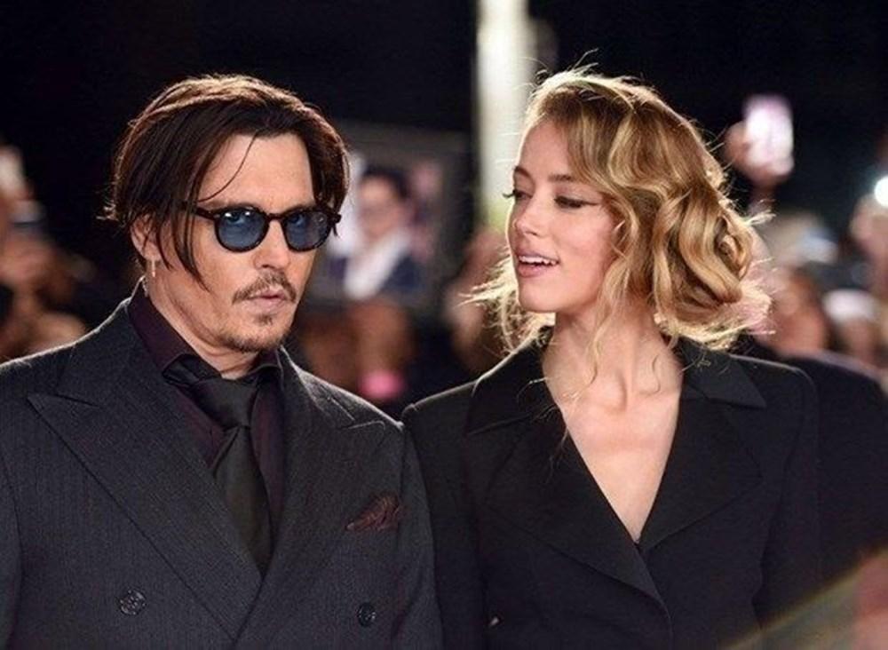 Amber Heard'e şiddet uyguladığı iddia edilen Johnny Depp iftira davasını kaybetti - 6