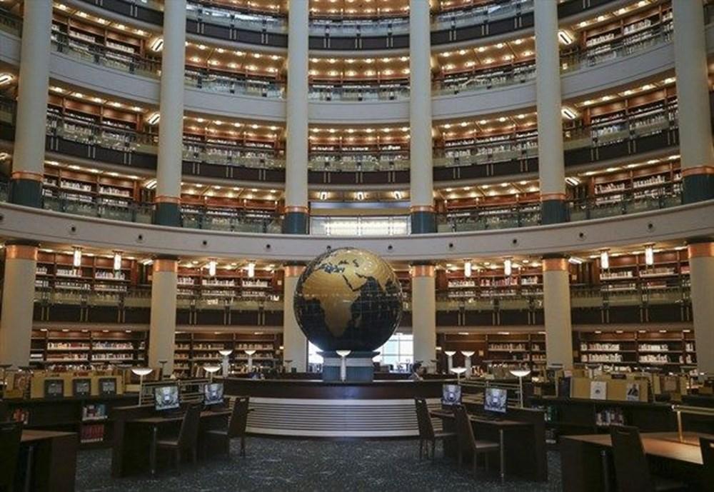 Cumhurbaşkanlığı Millet Kütüphanesi'ni 1 yılda yaklaşık 342 bin kişi ziyaret etti - 9