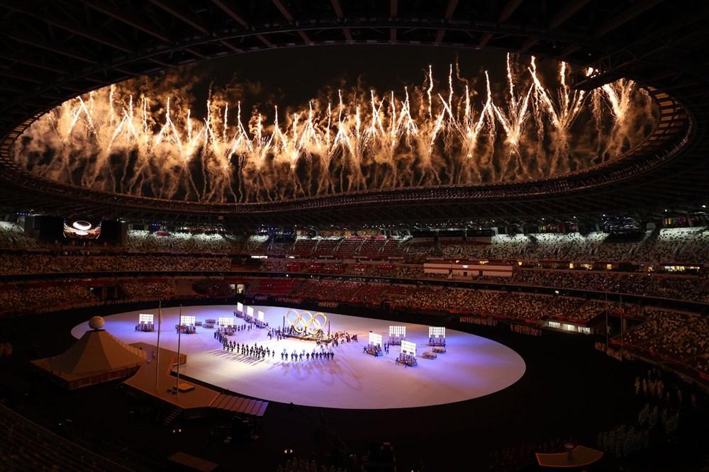 2020 Tokyo Olimpiyatları görkemli açılış töreniyle başladı - 65