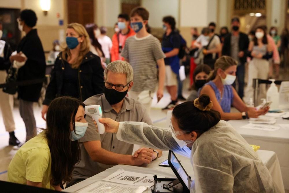 New York 14 ayın ardından normale döndü: Sosyal mesafe ve maske kaldırıldı, işletmeler tam kapasiteyle açıldı - 6
