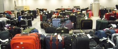 1 milyon bavul kayboldu