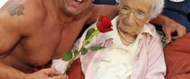 100. yaş gününde striptizci istedi