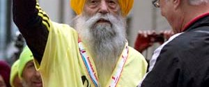 100 yaşındaki maratoncu boşuna koştu