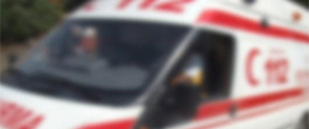 200 kiloluk kadını ambulansa 8 kişi taşıdı
