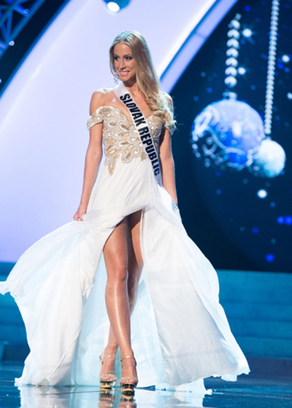 2012 Miss Universe finalistleri - 15   NTV Lubica Stepanova