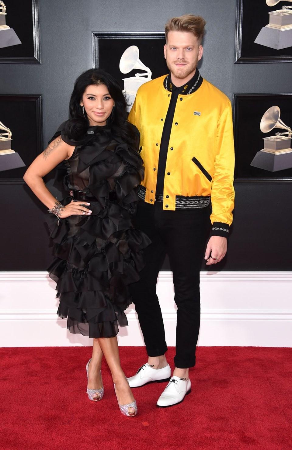 2018 Grammy Ödül Töreni, kırmızı halı, kirstin maldonado