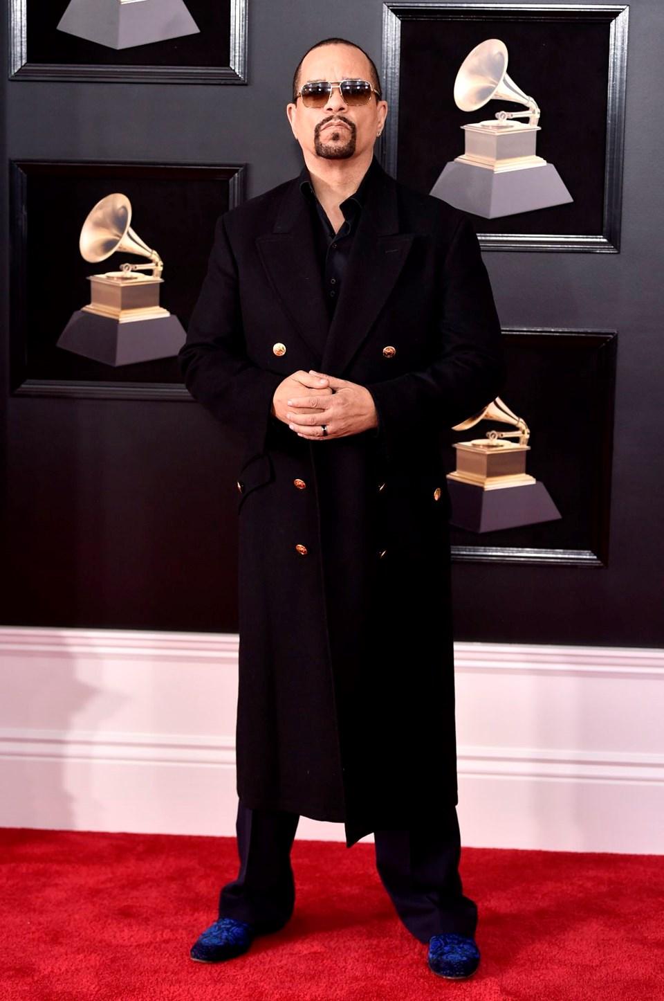 2018 Grammy Ödül Töreni, kırmızı halı, ıce-t
