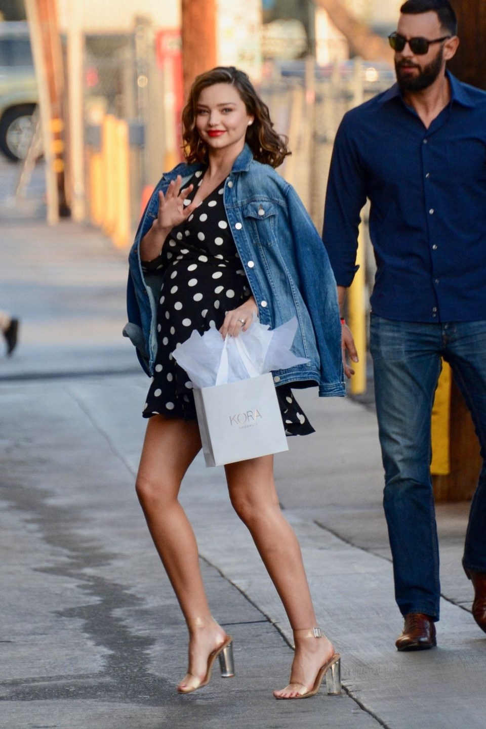 Miranda Kerr, stil, hamile stili