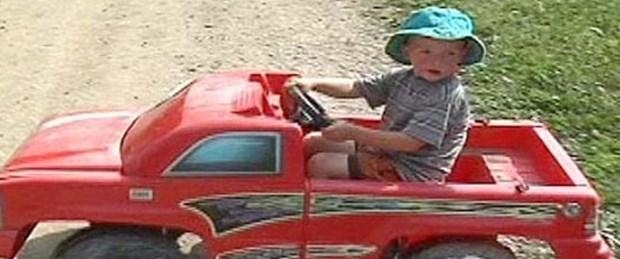 3 yaşındaki çocuk nehirde 12 km sürüklendi