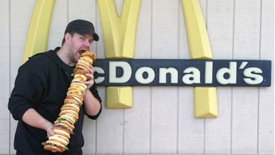 43 burgerden 'McEverything' yaptı