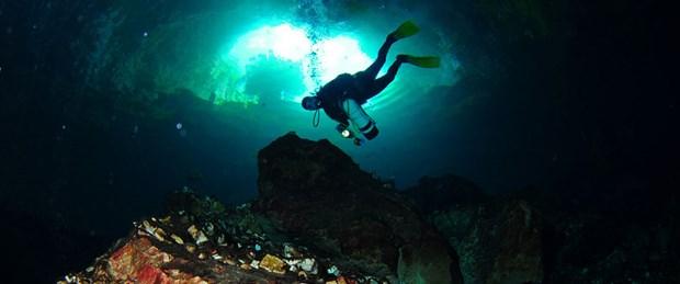45 metre derine daldılar, kalıntı aradılar