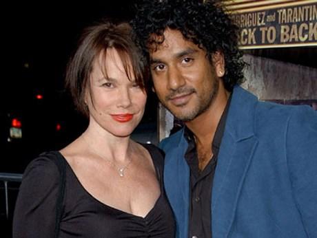 Barbara Hershey (62) - Naveen Andrews (41)