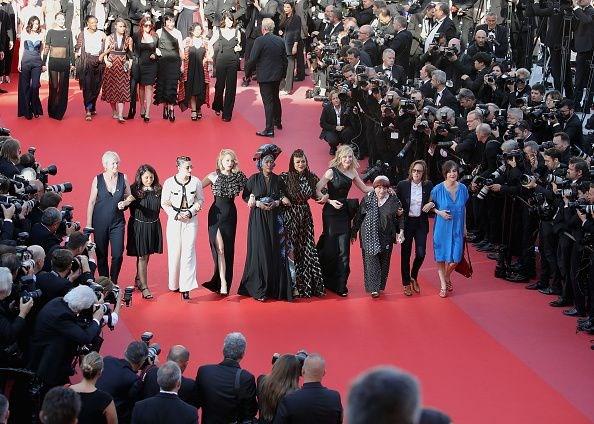 Protestolar Cannes'da devam ediyor