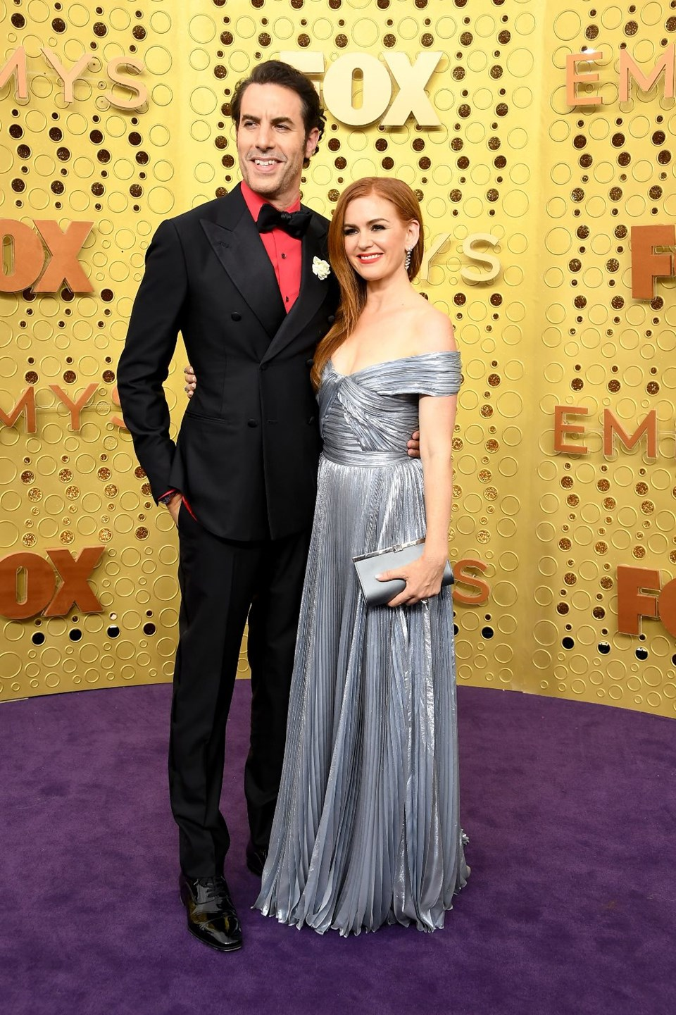 Sacha Baron Cohen ve Isla Fisher