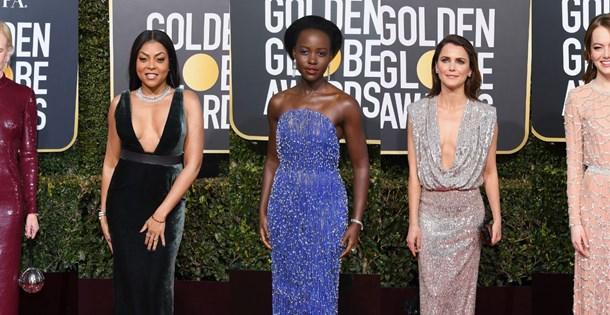 bc066ce9cf6e0 76. Altın Küre (Golden Globe) Ödülleri'nde kim, ne giydi? (Elbise  markaları) - 1 | NTV