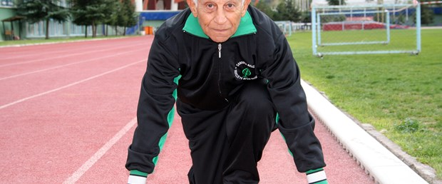 83'lük dede maraton koşacak