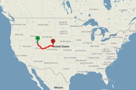 Utah ve Colorado arasında kalan hat, tren yolculuğunda ABD'nin en iyi rotalarından biri olarak kabul ediliyor.