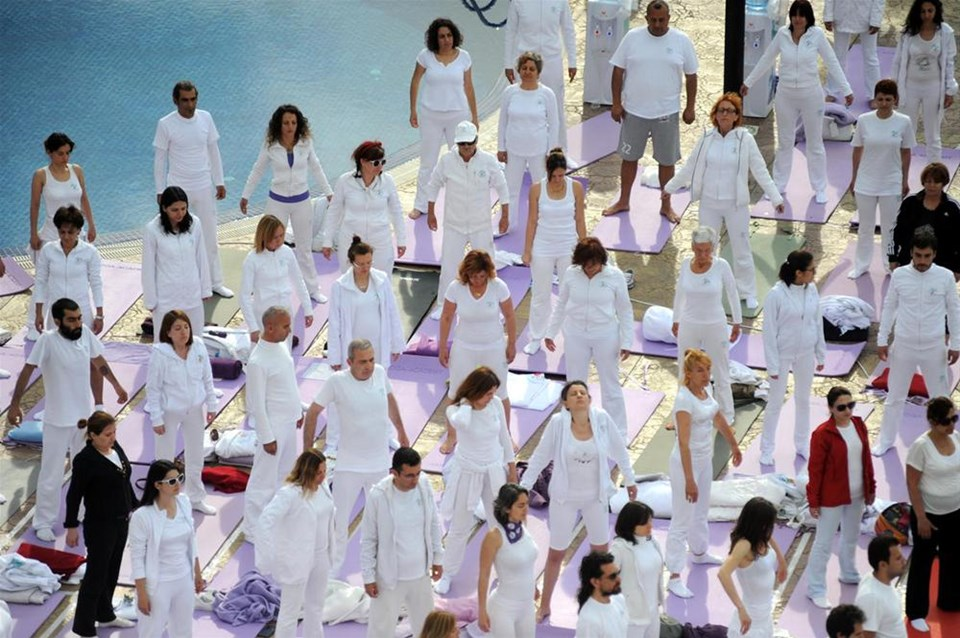 Akçakoca'da yoga festivali