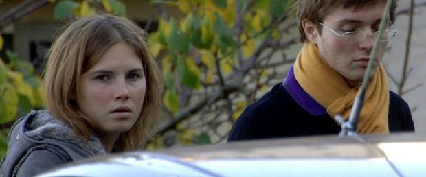 Amanda Knox eski sevgilisiyle