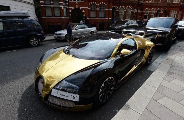 Arapların Londra'da lüksü