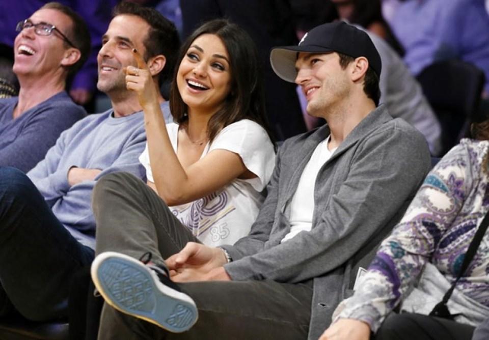 Mila Kunis ile olan beraberliğinden bir kızı olan Ashton Kutcher, Kunis ile Şubat ayında nişanlanmıştı.