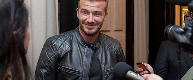 Beckham kaza geçirdi