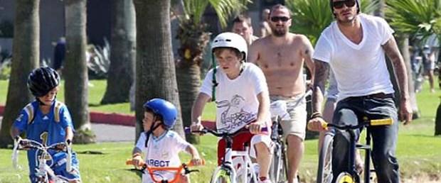 Beckhamlar erkek erkeğe