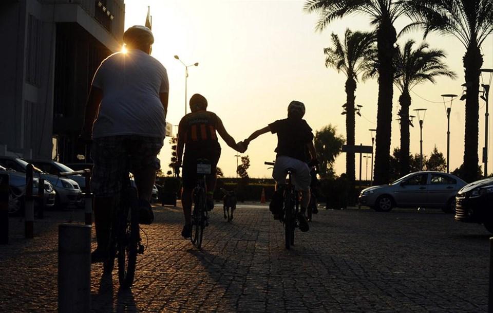 Belediyeye bisiklet kuşatması