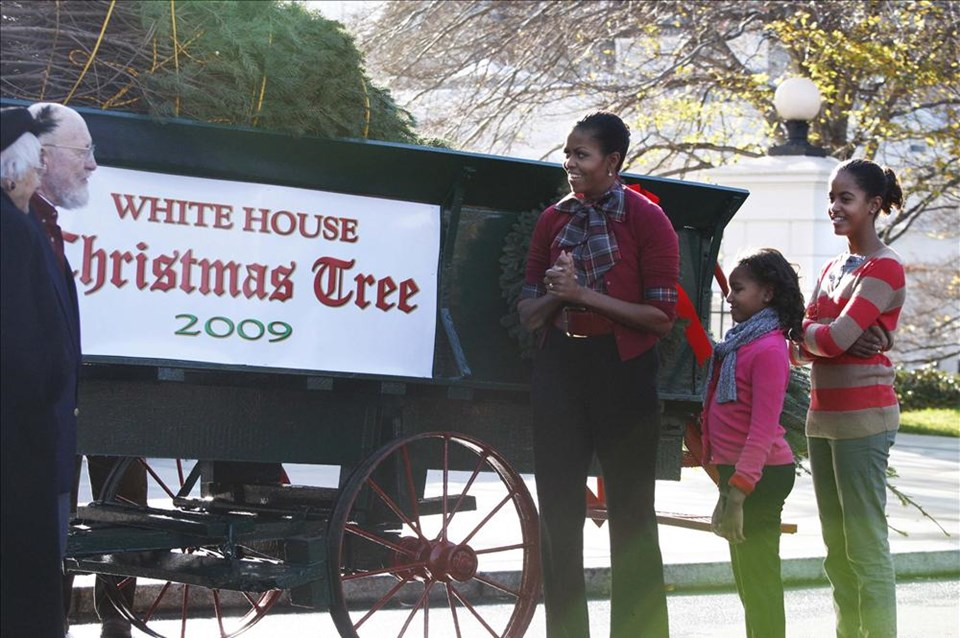 Beyaz Saray Noel'e hazır