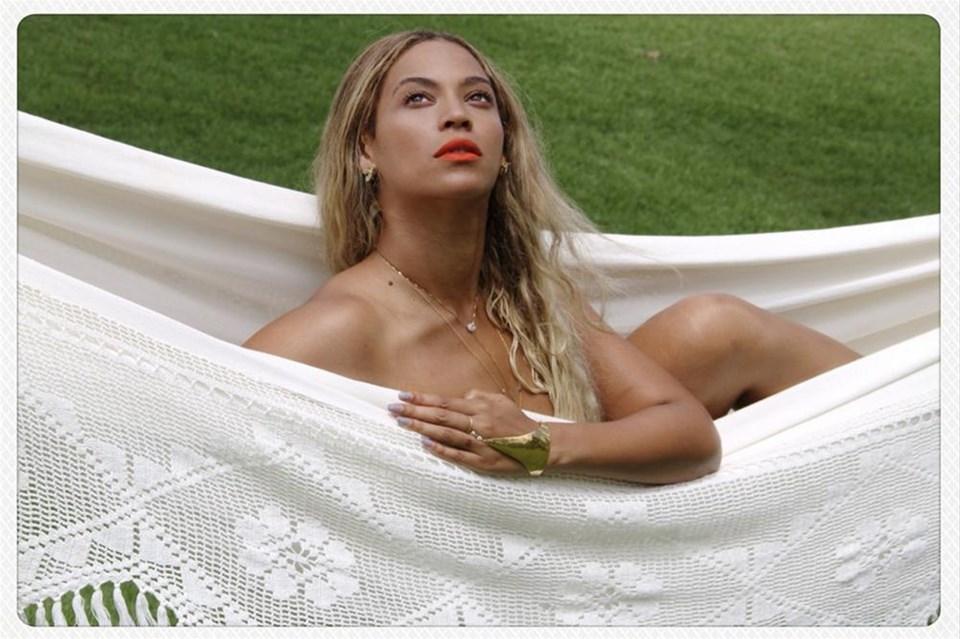 Beyonce'den hamak keyfi